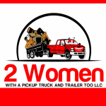 Two Women With a Pickup